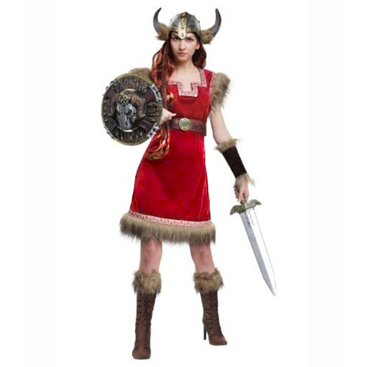 Women's Barbarian Viking Adult Costume N14662