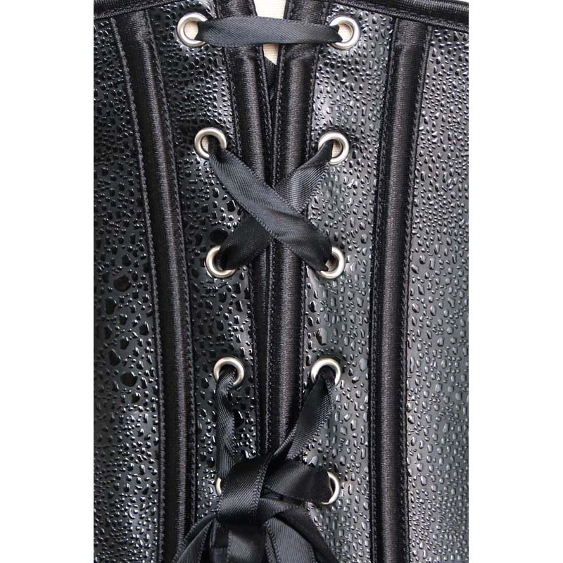 Leather Underbust Corset N2153