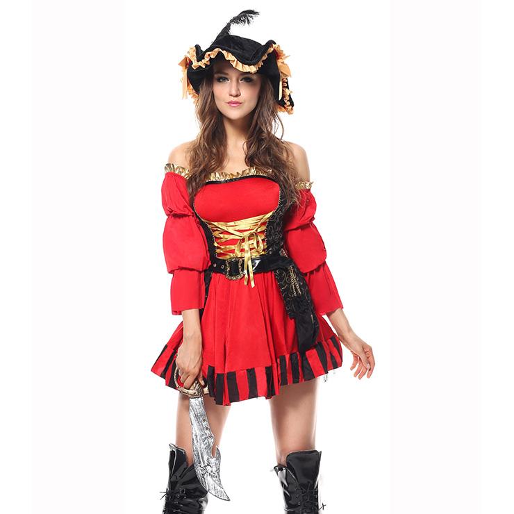 Sexy spanish pirate costume