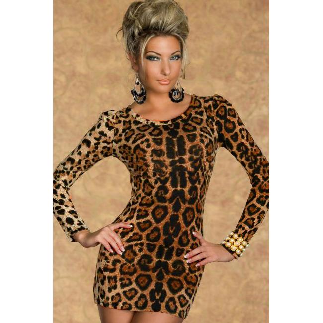 Леопардовые платья магазин купить