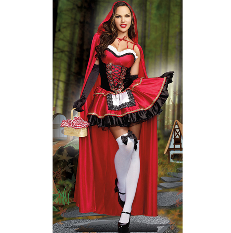 Sexy Little Red Riding Hood Costume N8926
