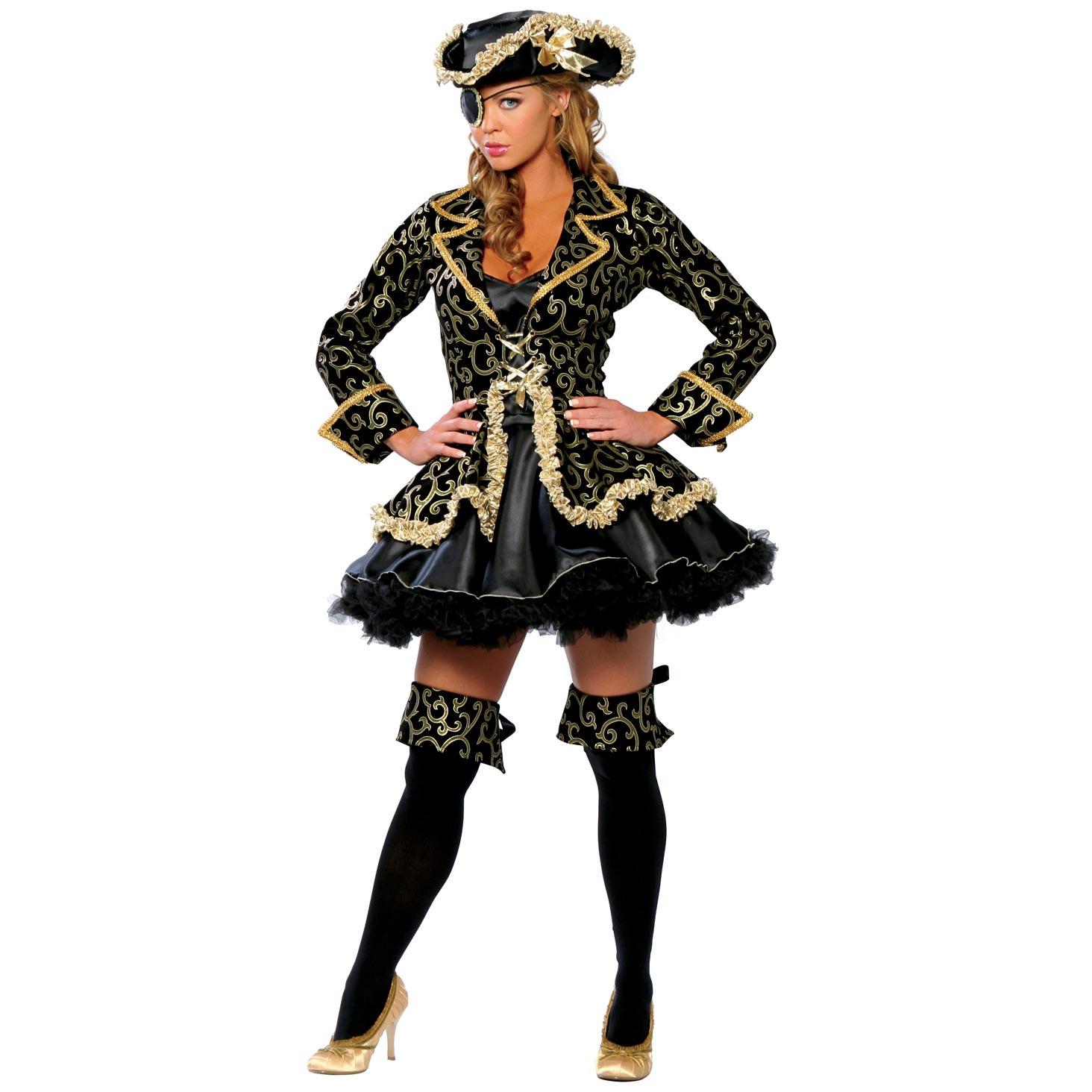 Sexy pirate halloween costume idea has
