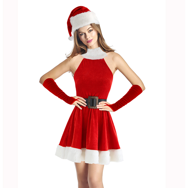 Can adult womens christmas costume with you